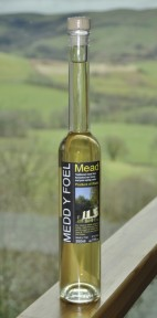 The first bottle of Medd y Foel